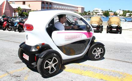 Twizy the way forward to protect tourists